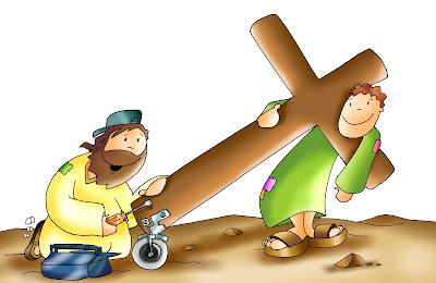 Resultado de imagen para imagenes de San Lucas 14,25-33 para niños