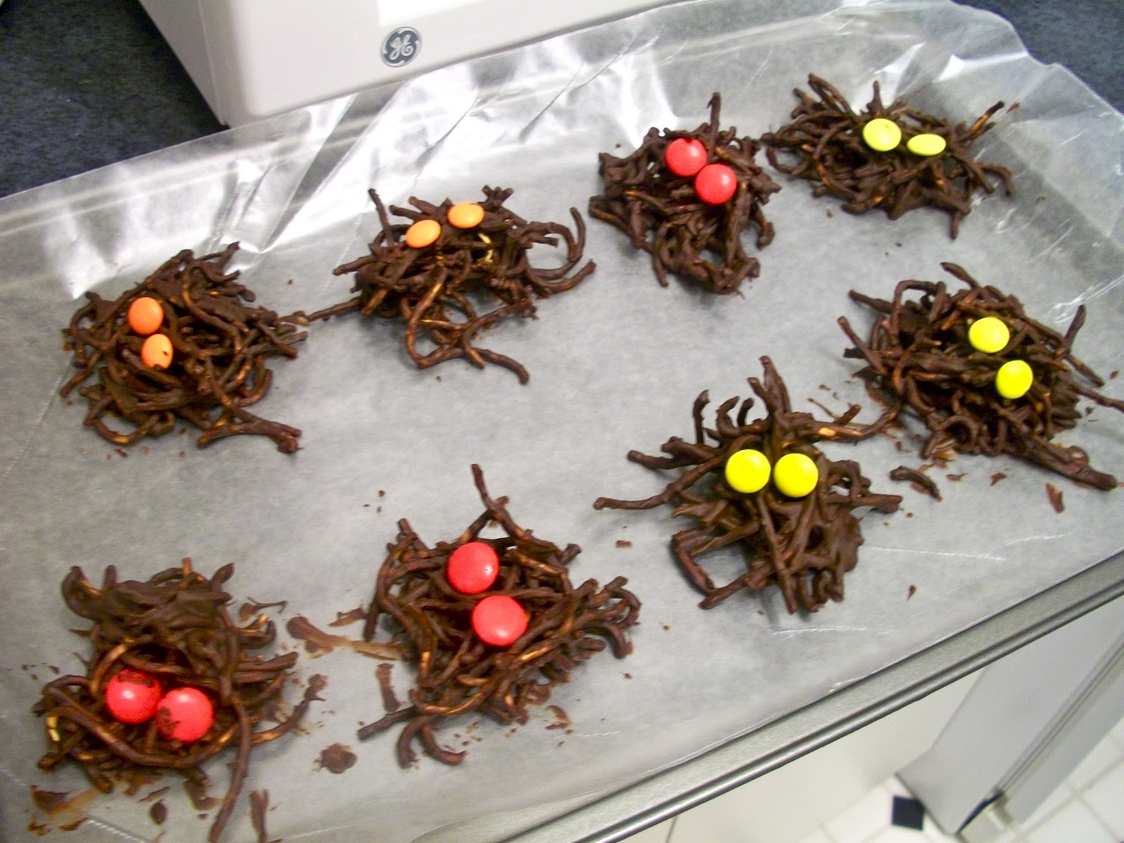 Brooke Bakes Chocolate Spiders