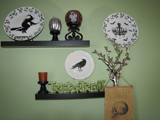 Sustainably Chic Designs: More Halloween Decorating ...