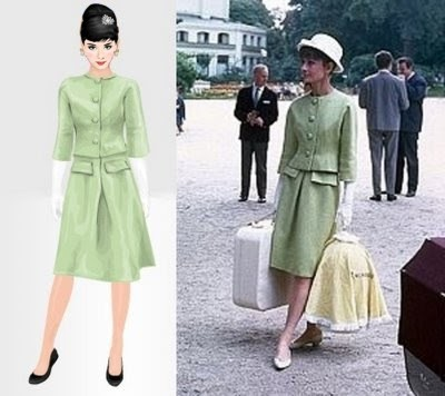 seen on stardoll hubert de givenchy dresses audrey hepburn. Black Bedroom Furniture Sets. Home Design Ideas