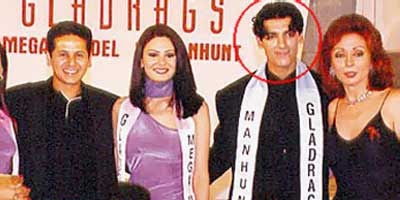 John Abraham at 1999 Gladrags Manhunt
