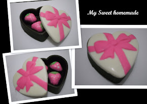 Coklat box - Love shape