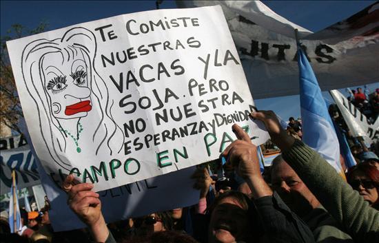 Resultado de imagen para Cristina Kirchner y el campo