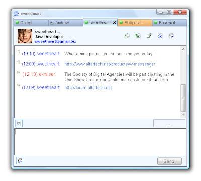 Free Jabber XMPP Client for Windows – V&V Messenger
