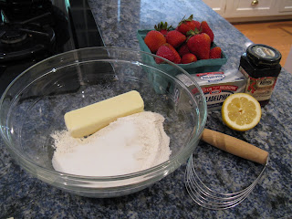 Strawberry Pie Dessert ingredients