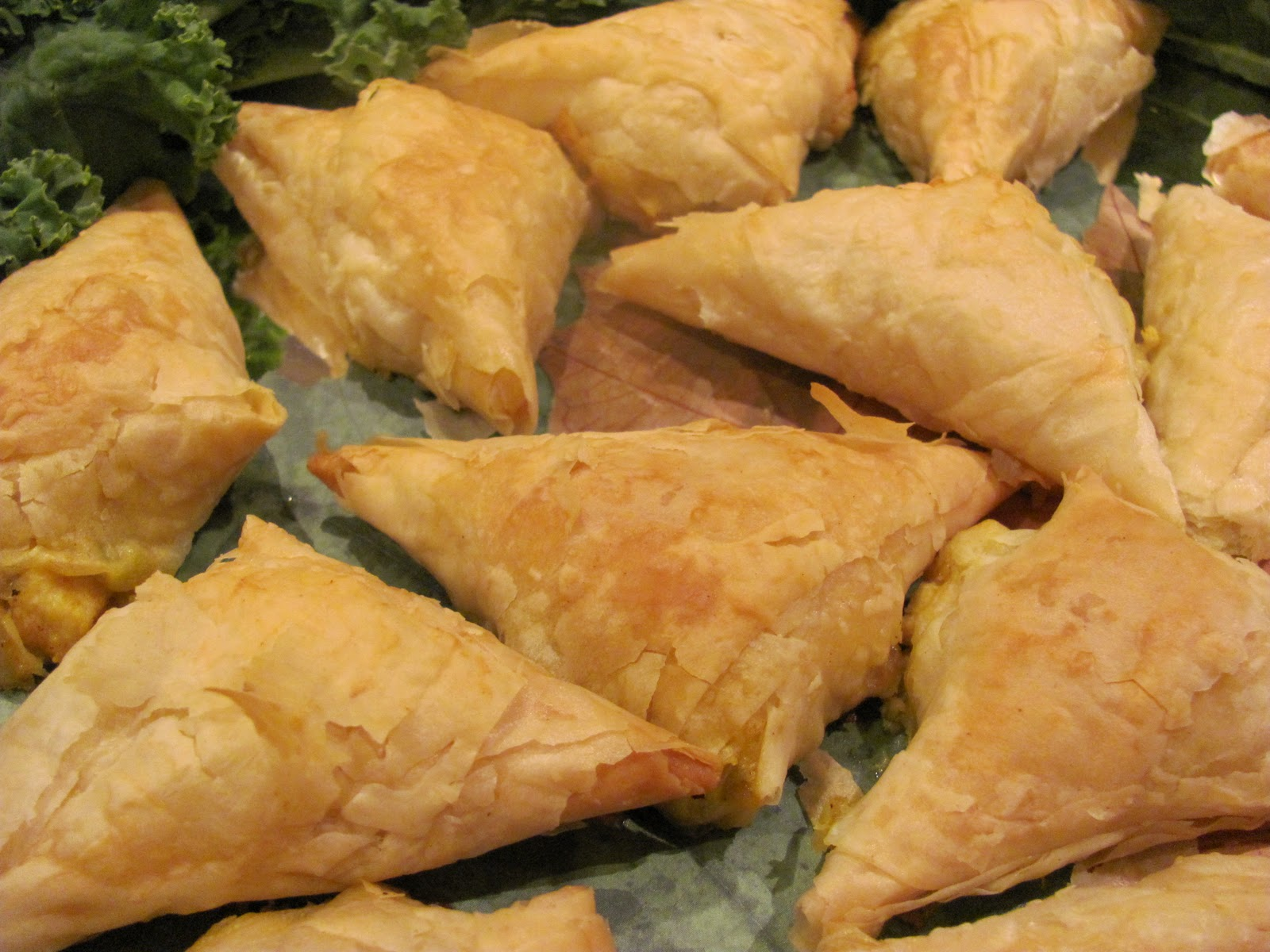 Chicken Samosas - That Skinny Chick Can Bake
