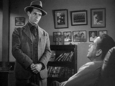 Elisha Cook Jr. with Humphrey Bogart