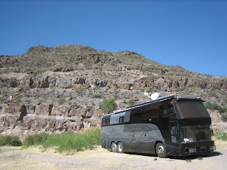Odyssey at Colorado Canyon campground