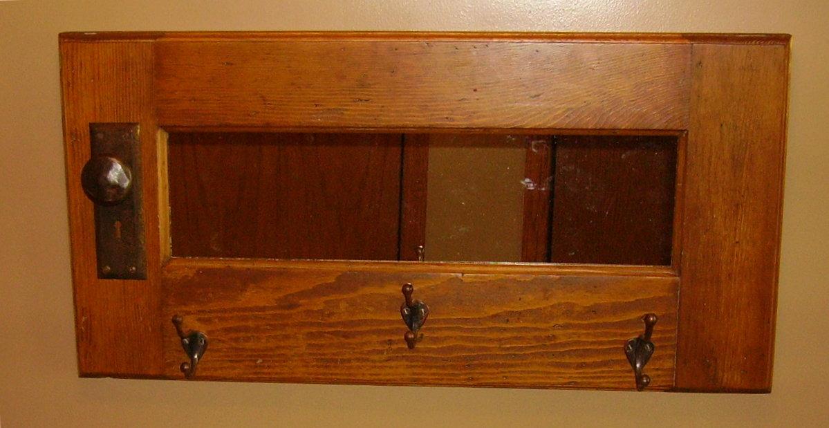 K.H. Handyman: Coat Racks made from old doors