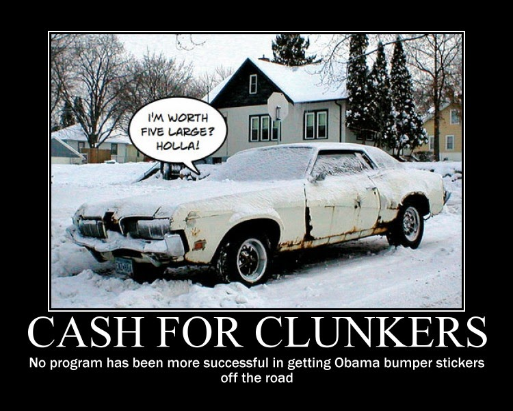 Image result for cash for clunkers fail