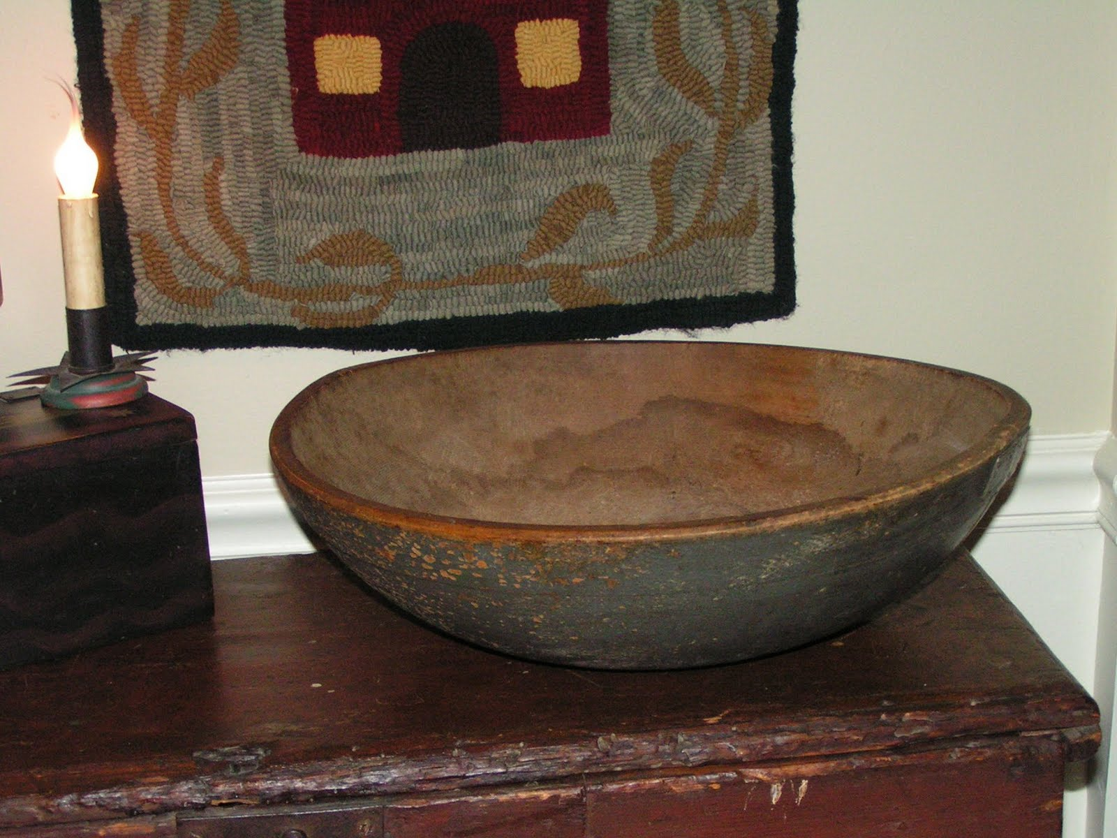 Painted Dough Bowls