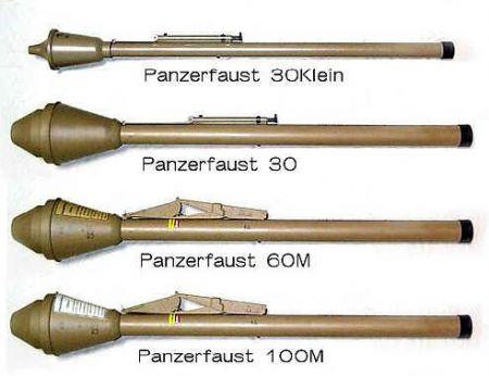 Resultado de imagem para Lançador de foguete Panzerfaust ou Faustpatrone
