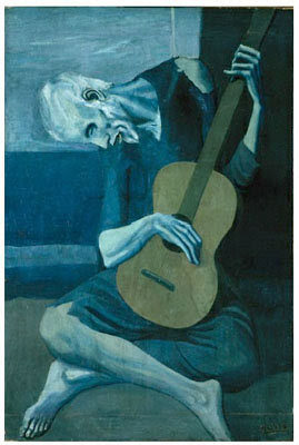 "Formal Analysis: Picasso's ""The Old Guitarist"""