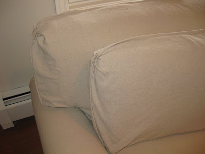 Custom Slipcovers By Shelley Drop Cloth Slipcovers With