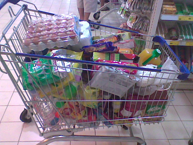 Wah Banyak Juga Barangan Grocery Yang Dibeli Gilocatur Dan Isteri Memang Lebih Kurang Beginilah Belian Untuk Sebulan