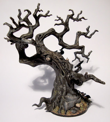andy s wargaming adventures spooky trees
