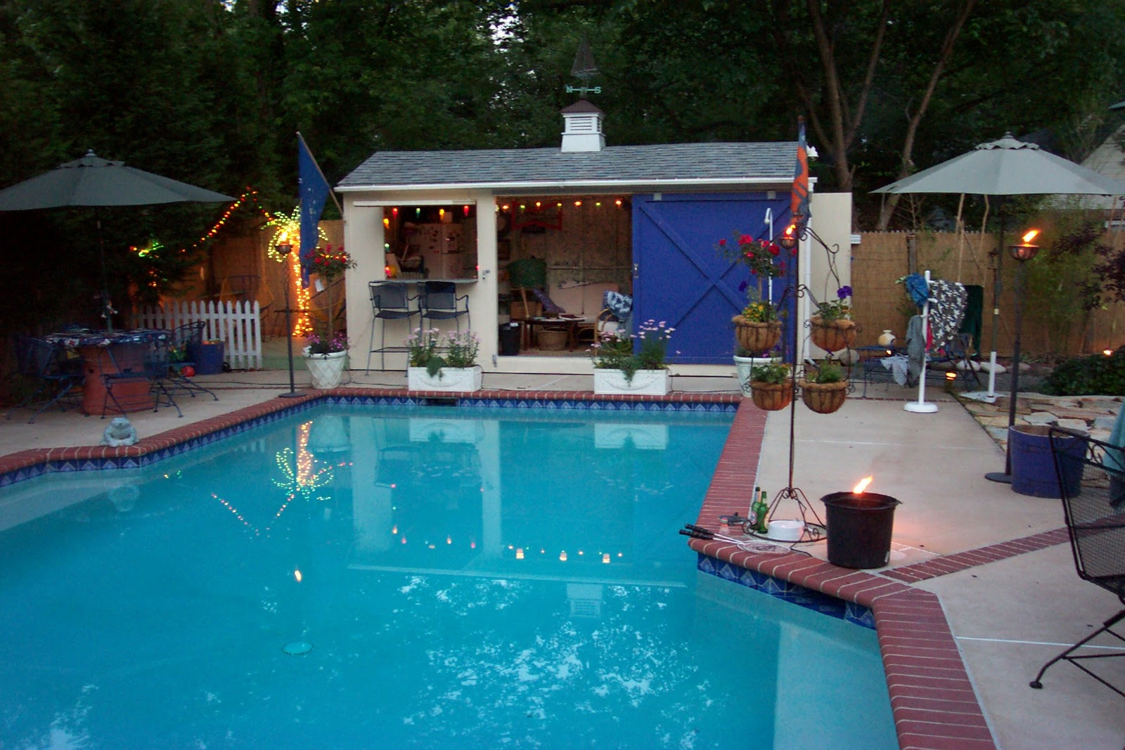 Living stingy swimming pool on a budget - Pool patio ideas on a budget ...