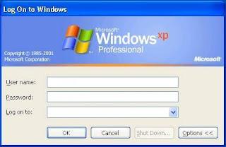 Cara Menjebol Password Windows XP