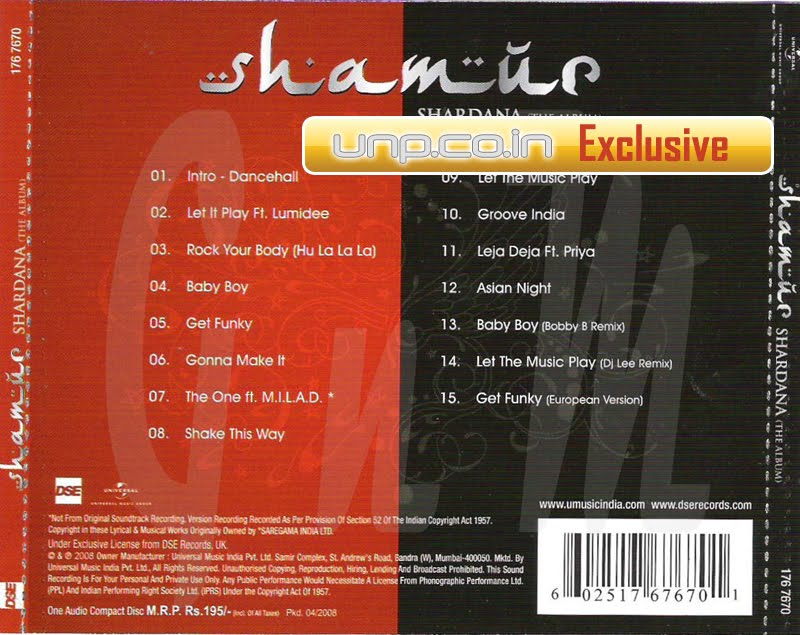 Let the music play shamur ringtone downloads