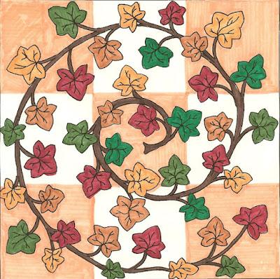 autumn mandala for fall