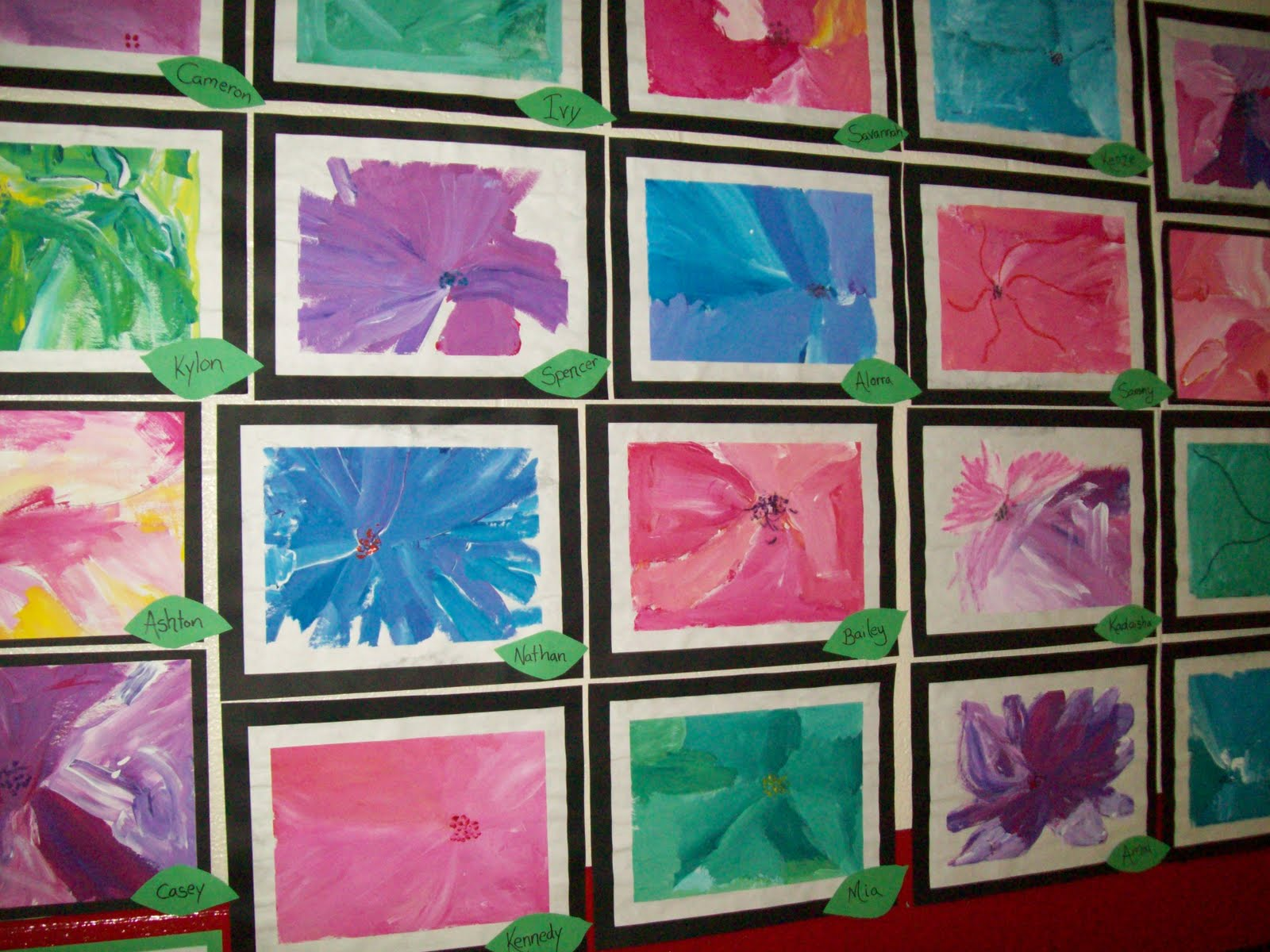 Art With Mr E Kindergarten Art Show Work