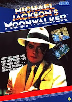 Plenty of posters like these were strattled on every arcade bulletin board in preparation for Moonwalker: The Game