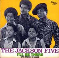 The Jackson 5 broke a record with 5 #1 Black Singles by the time I'll Be There broke out