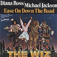 The Single Ease On Down The Road spent 5 nonconsecutive weeks at #1 on the Disco Charts