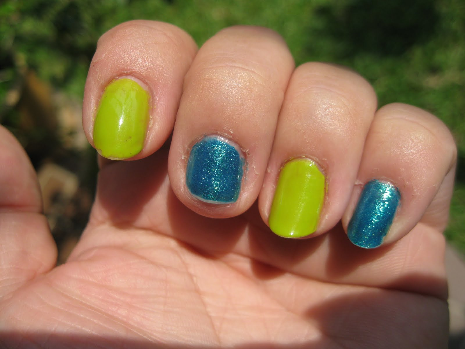 Polished Tips And Toes Notd Opi Who The Shrek Are You And Catch Me In Your Net