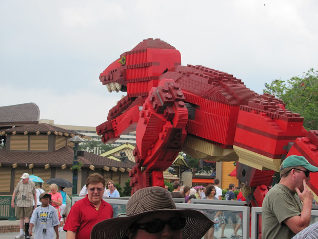 Manning Family Lego Sculptures