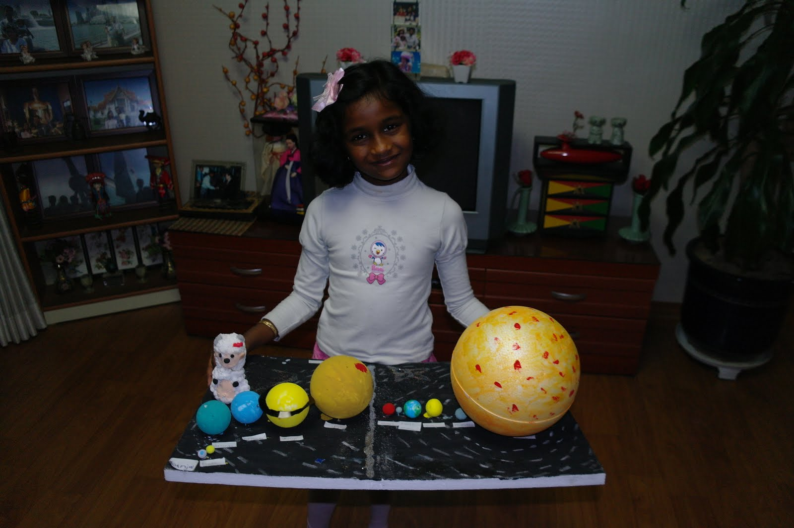 a solar system made of clay - photo #22