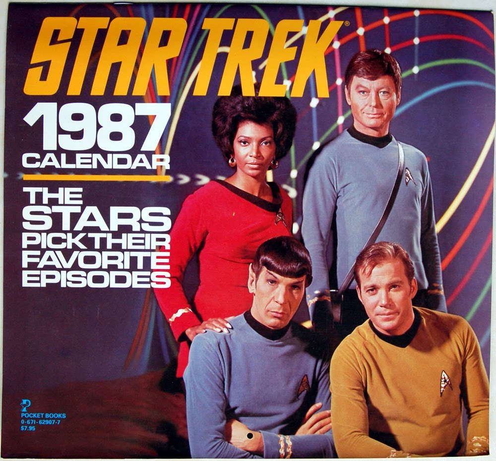 Collecting The Future Star Trek 1987 Calendar