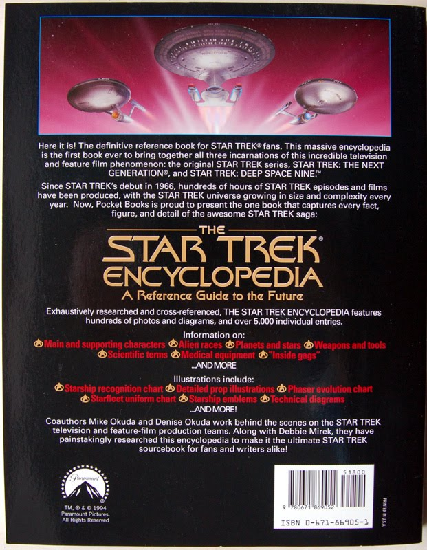Collecting The Future: The Star Trek Encyclopedia