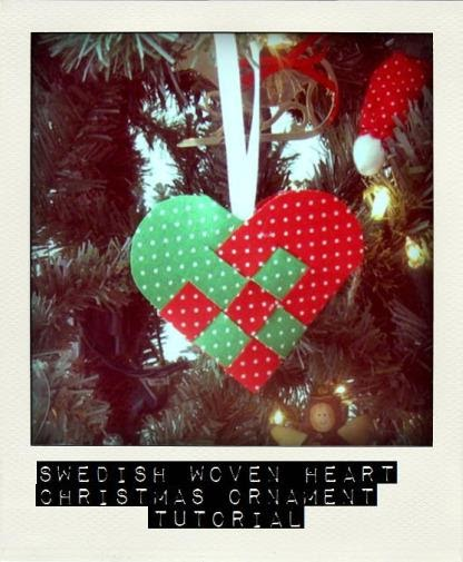 Swedish Christmas Ornament Crafts