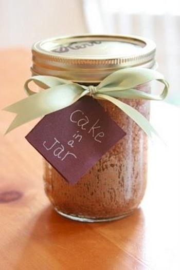 Mug Cake In A Jar