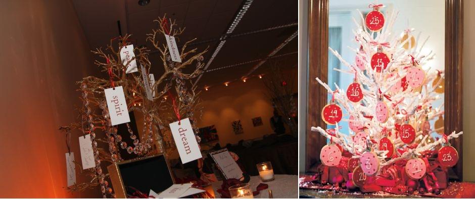 Ramas de rbol como centros de mesa - Arboles secos decorados ...