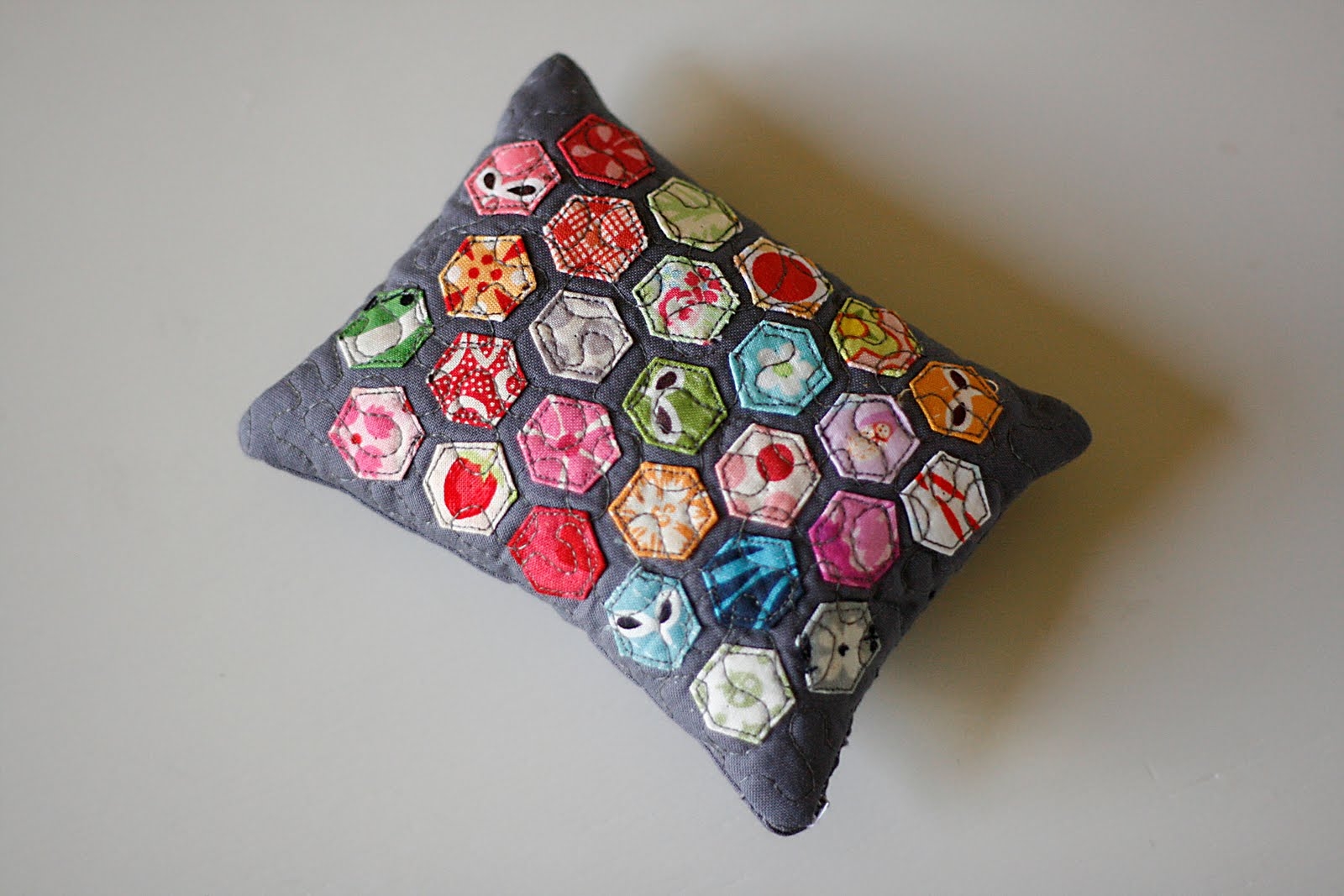 A Pincushion and some Silliness – Coriander Quilts