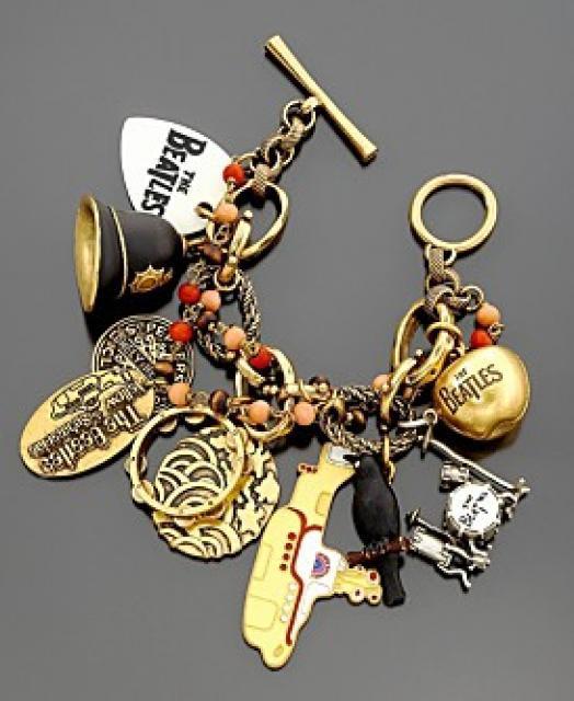 Beatles Charm Bracelet: Dewilicious Mind: Charm Bracelet