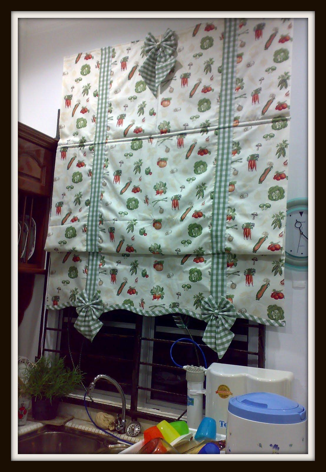 Pattern Ini Nali Sebagai Combinasi Pelmet Tab Dan Roman Blind Kebanyakan Boley Digunakan Di Ruang Tamu Bahagian Dapur