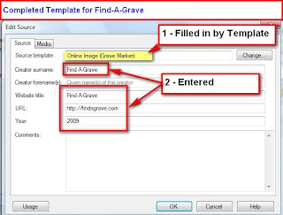 Family Tree Maker User: Source Citation Template - Find-A-Grave