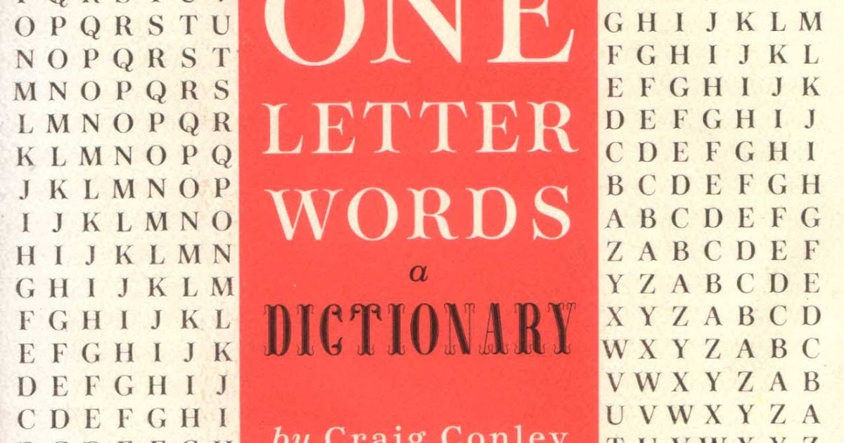 programming is a four letter word by craig bruce like huc amp gabet one letter words a dictionary by craig conley 303