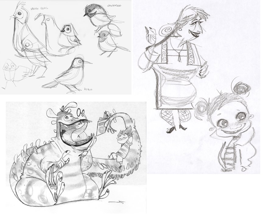 Character and Creature Design Notes: Ovi Nedelcu