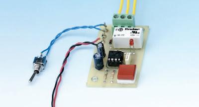 sh mas electroniques un temporisateur dur e fixe base de circuit int gr ne555. Black Bedroom Furniture Sets. Home Design Ideas
