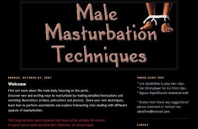 Male masturbation technique rapidshare