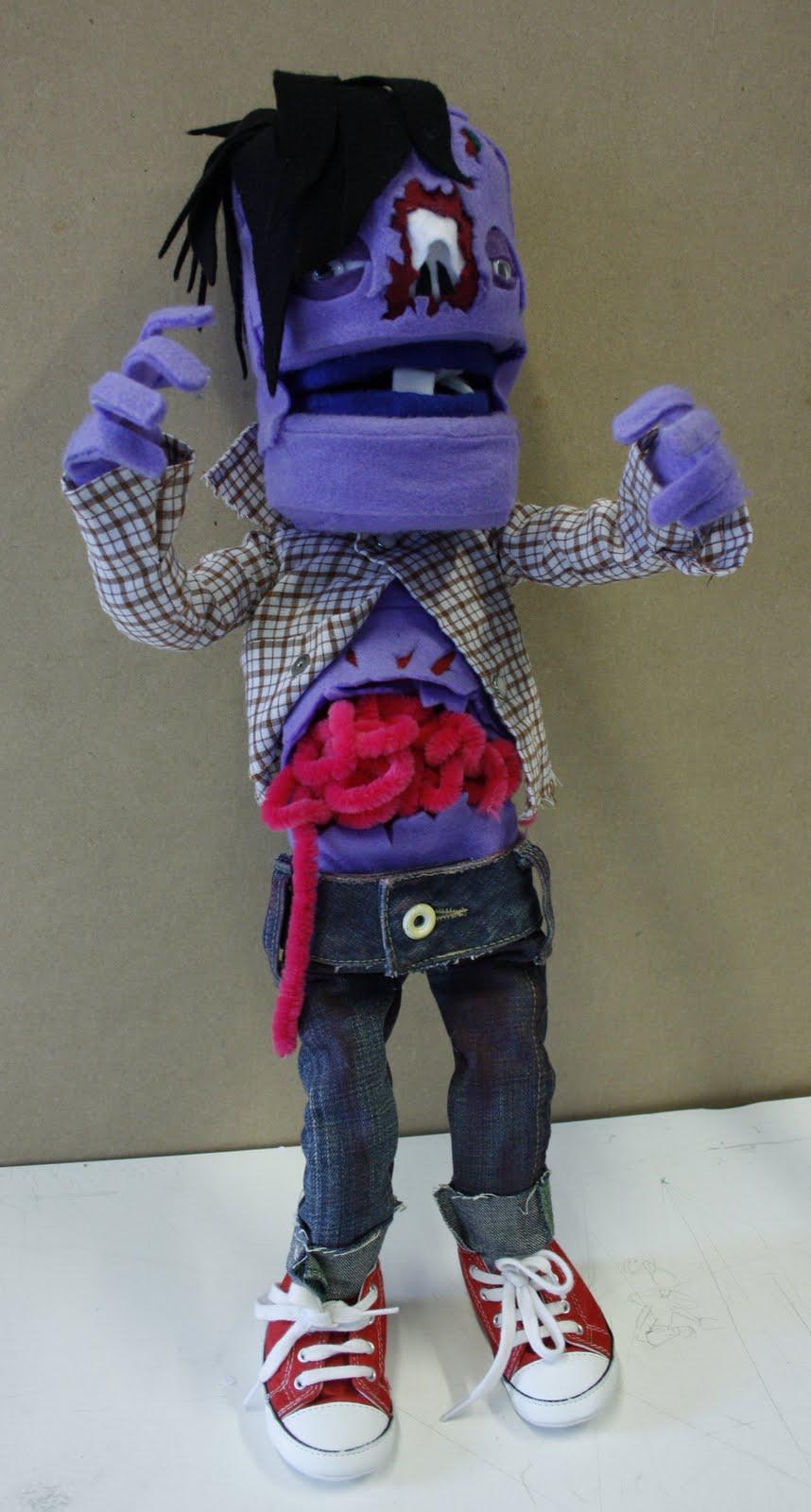 Andrew Robinson: Zombie Puppet