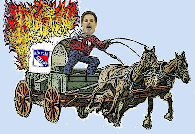 Yippee Kiya! Here comes John Tortorella and New York Rangers Firewagon Hockey