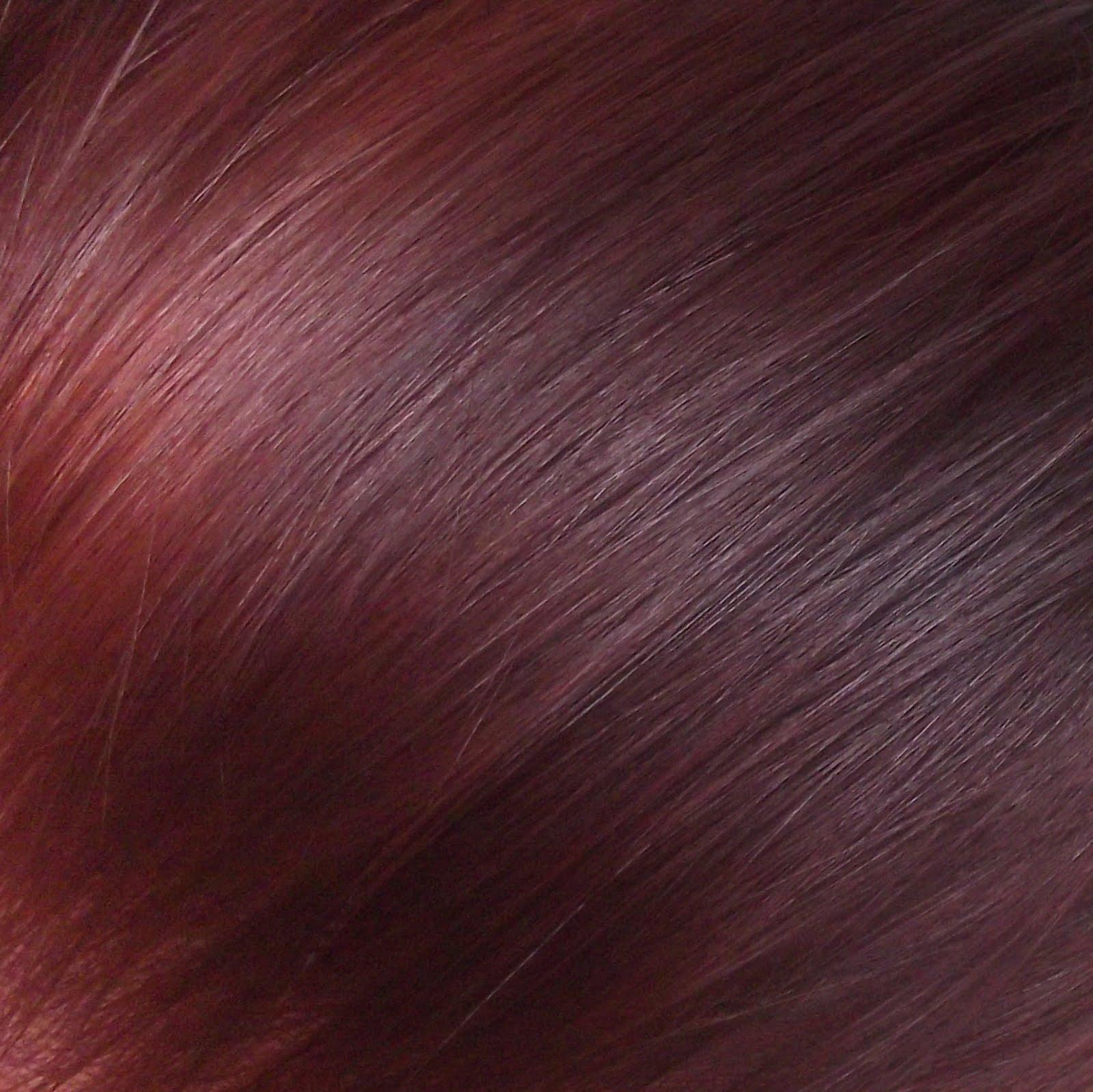 Beautification Syoss Mahogany My New Hair Colour