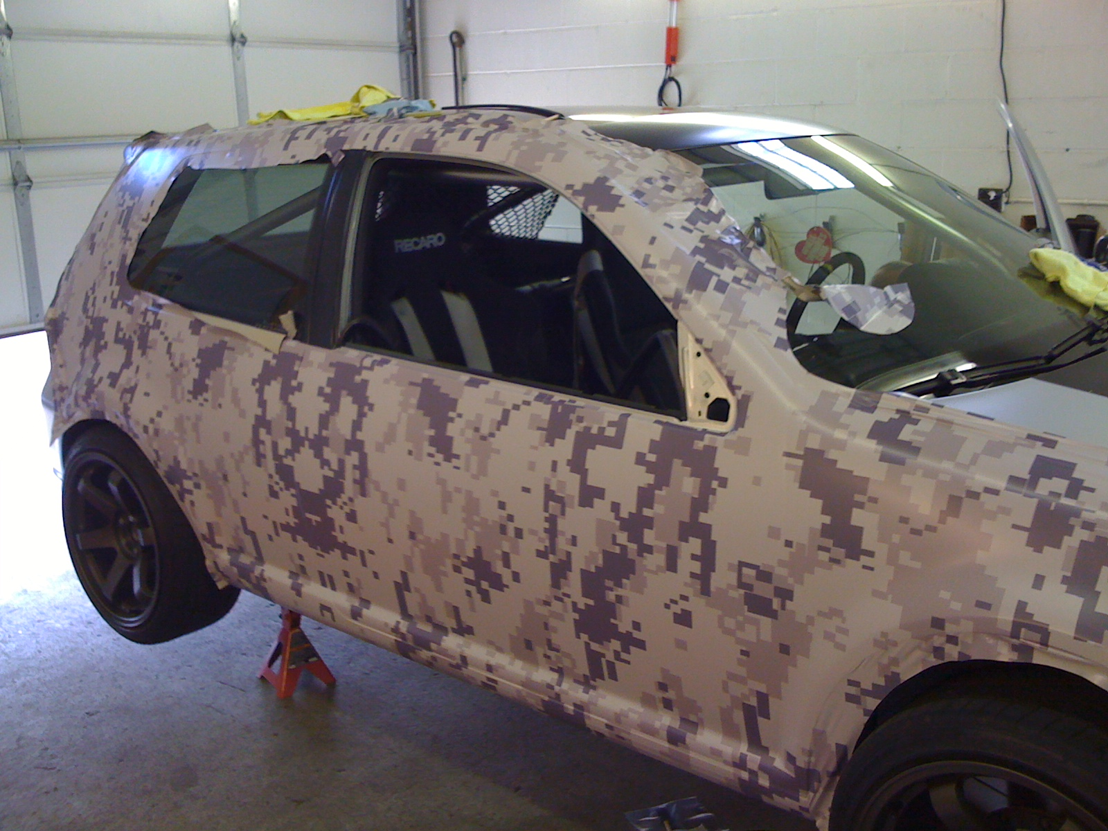 Ink And Octane Vinyl Wrap Digital Camo