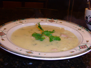 Slow Cooker Ham Chowder in a bowl