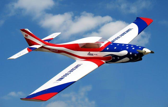 Sport - Scale Aerobatic: New Nitro Models Lancair 120 - 71